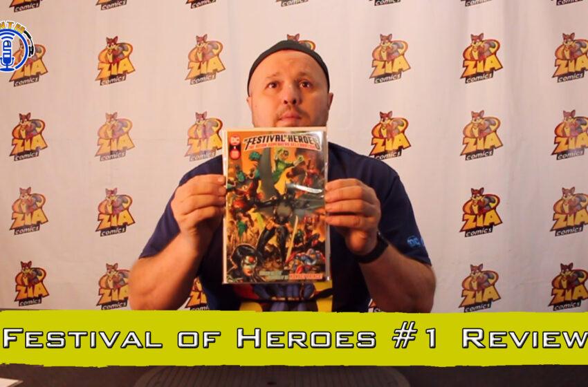 VLog: TNTM's Troy reviews DC Comics Festival of Heroes #1
