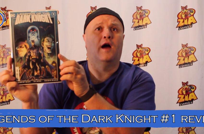 VLog: TNTM's Troy reviews DC Comics Legends of the Dark Knight #1