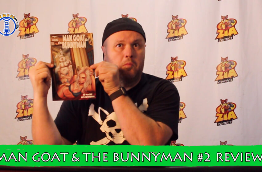 VLog: TNTM's Troy reviews Zenescope Entertainment Man Goat & Bunnyman #2