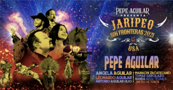 Pepe Aguilar to perform at the El Paso County Coliseum this Fall