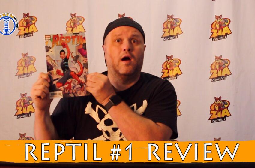 VLog: TNTM's Troy reviews Marvel Comics Reptil