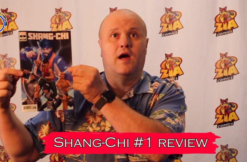 VLOG: TNTM's Troy reviews Marvel Comics Shang-Chi #1