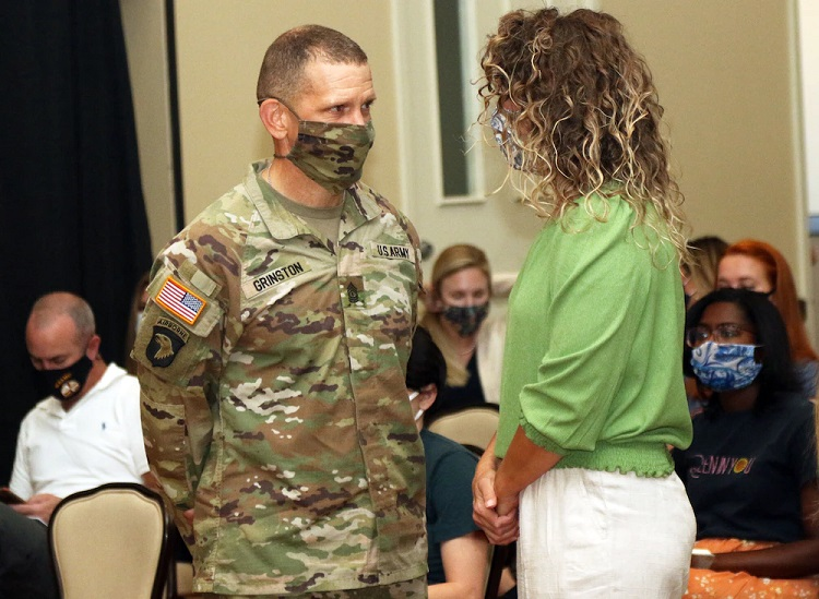 Sergeant Major of the Army visits Fort Bliss