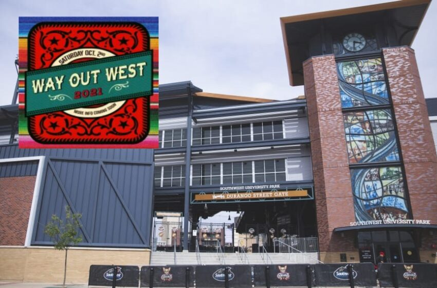 'Way Out West Fest' returns to Southwest University Park this Fall
