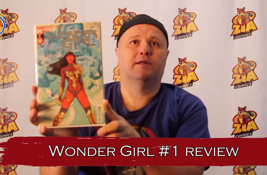 VLog: TNTM's Troy reviews DC Comics Wonder Girl #1