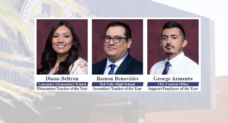 Ysleta ISD reveals 2021-22 Support Employee, Teachers of the Year