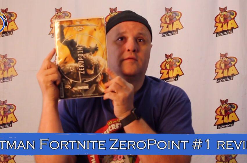 VLog: TNTM's Troy reviews DC Comics Batman Fortnite Zeropoint #3