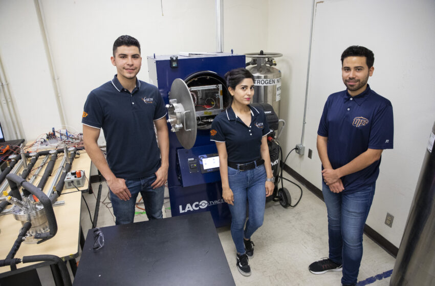 NASA calls on UTEP Miners to mine water on the Moon
