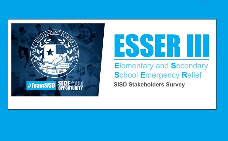 SISD community members input needed via ESSER III Funding Stakeholder Survey