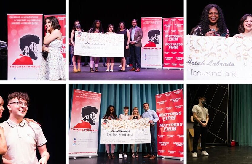 Great Khalid Foundation presents two Socorro ISD students with national scholarships