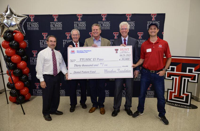 Hunt School of Dental Medicine welcomes Inaugural Class, Announces $30k Marathon Petroleum Foundation Gift