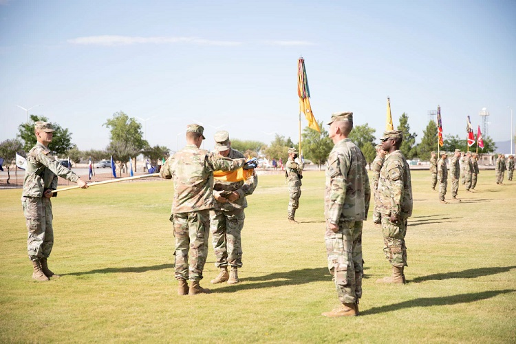 Ft. Bliss' 3ABCT 'Bulldog Brigade' holds Casing Ceremony ahead of rotation to South Korea
