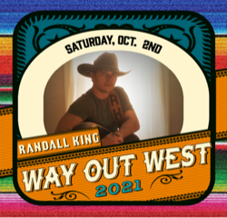 Way Out West Fest adds Randall King to October's festival line up