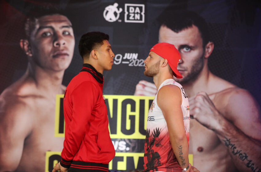 Gallery: News Conference for Saturday's Munguia vs Szeremeta boxing bouts