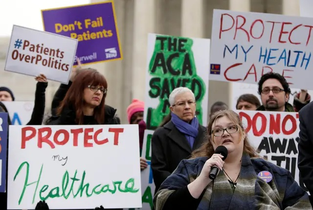 Supreme Court tosses Texas-led Affordable Care Act challenge, preserving sweeping health care law