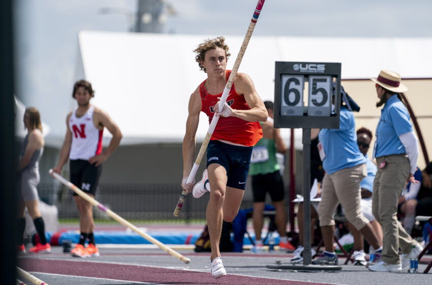 UTEP Pole Vaulter Paulo Benavides named 2021 C-USA Co-Men's Field Athlete of the Year