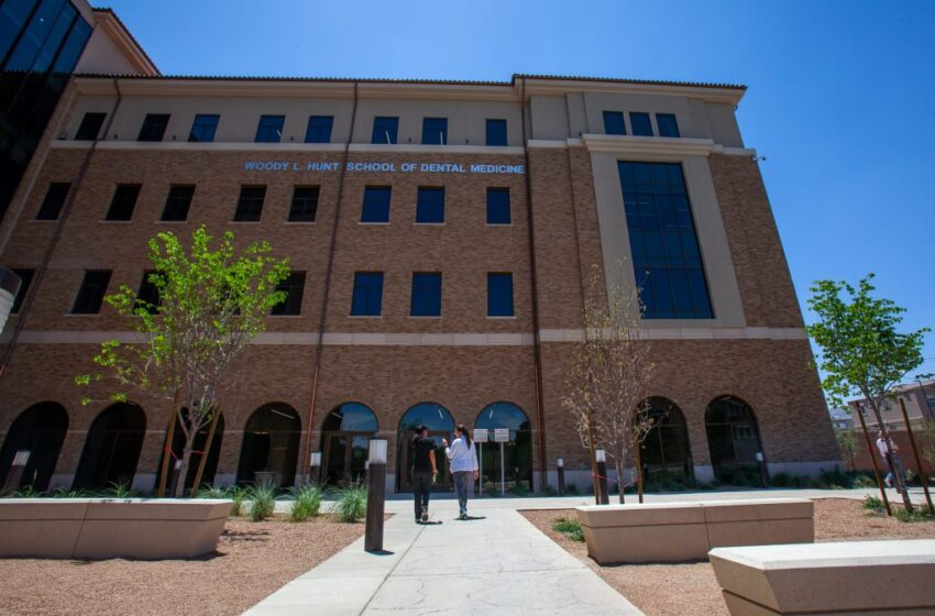 Hunt School of Dental Medicine, NM Higher Ed Department to partner, Will offer opportunities for New Mexico Dental Students