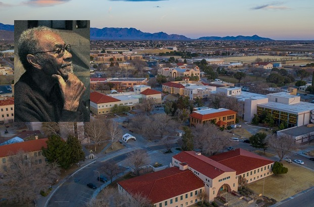 Clarence Fielder taught African American history at New Mexico State University from 1970 to 2010. NMSU's Board of Regents approved the naming of a wing of Breland Hall which houses the Department of History in his honor.  | Photos courtesy NMSU