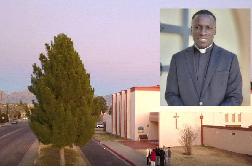 Bishop Peter Baldacchino welcomes new Priest to Catholic Diocese of Las Cruces