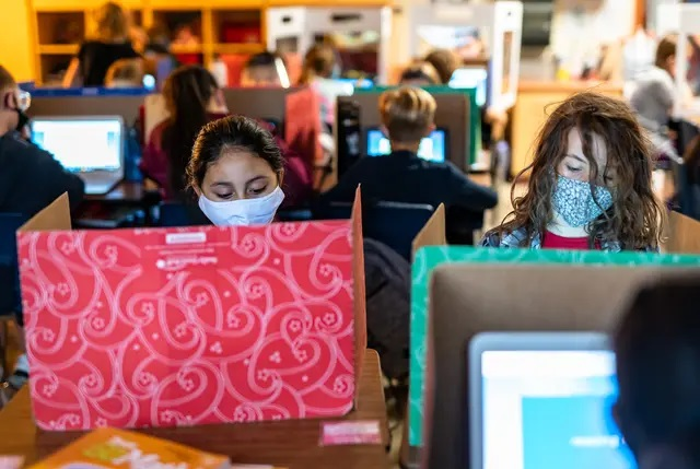 Texas students' standardized test scores dropped dramatically during the pandemic, especially in math
