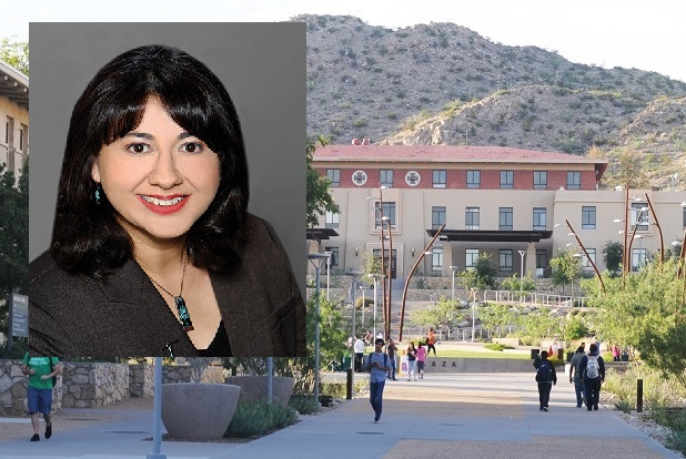 Jeannie B. Concha, Ph.D., assistant professor in The University of Texas at El Paso's Department of Public Health Sciences, is among the authors being highlighted in a special issue of Health Education and Behavior (HE&B) journal that focuses on researchers from underrepresented populations. | Photo courtesy UTEP