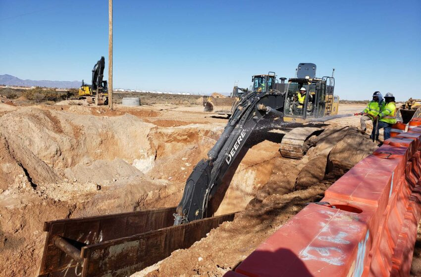 El Paso Water's Montana Vista Project nears Phase I completion
