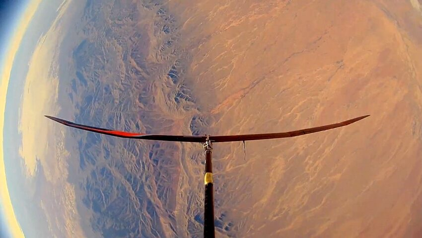PSL at NMSU, partners conduct pioneering stratospheric launch at Spaceport America