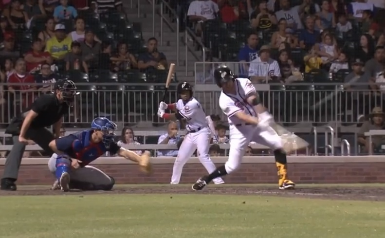 Chihuahuas outlast Express, win 4-3; Kivlehan again goes yard for 'Dogs