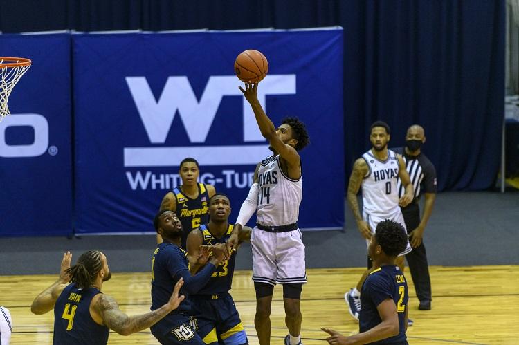 Miner men's basketball team adds Georgetown transfer Jamari Sibley
