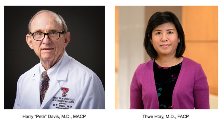 Two TTUHSC-El Paso Docs honored with Suskind Medical Faculty Award