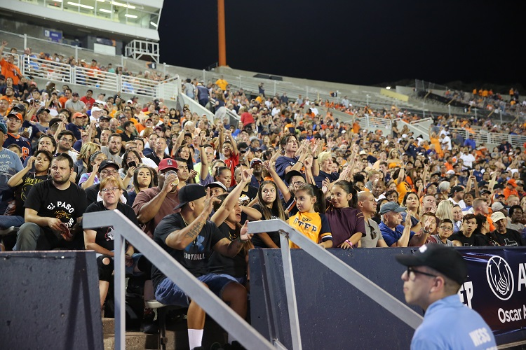 """UTEP AD Jim Senter: We can't wait to welcome Miner Nation back to create a home field advantage for our coaches and student-athletes, while we also realize how excited our fans are to see the Miners play in person in 2021…""""  