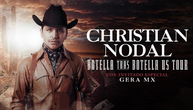 Christian Nodal 'Botella Tras Botella' Tour set for Haskins Center this December