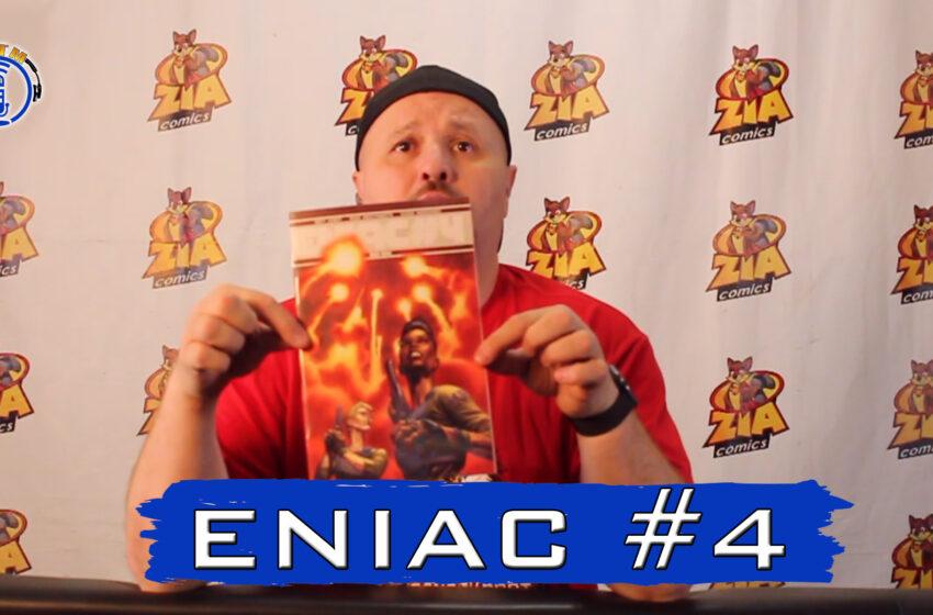 VLog: TNTM's Troy reviews Bad Idea Comics Eniac #4