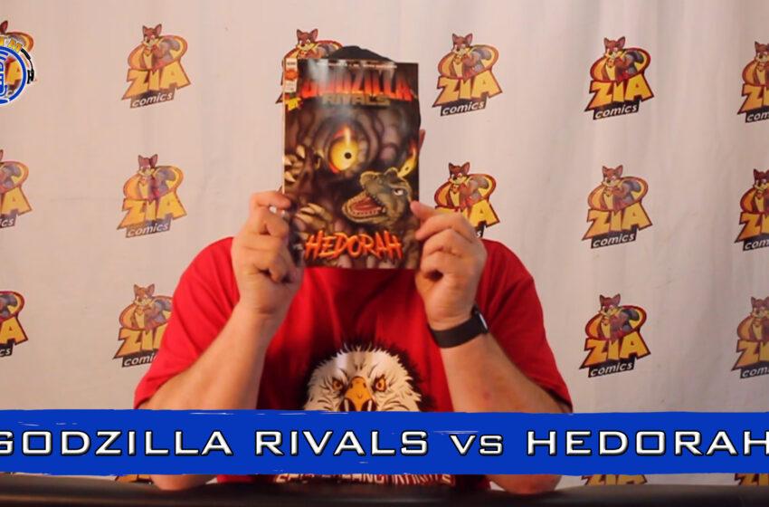 VLog: TNTM's Troy reviews IDW Publishing Godzilla Rivals vs Hedorah one shot