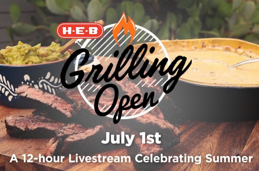 H-E-B hosts streaming Grilling Open on July 1 ahead of Independence Day celebrations