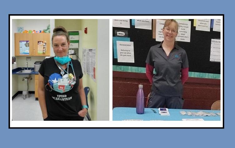 Hillside, Mesita nurses named Region 19 School Nurses of the Year