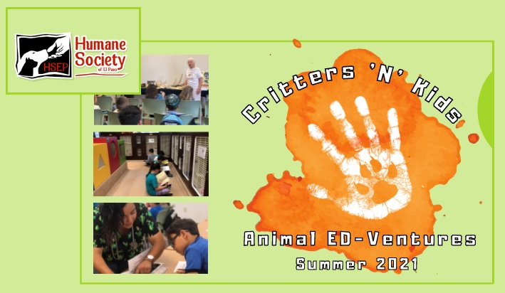 Humane Society of El Paso's 'Critters 'N' Kids' Summer Camp returns for 2021