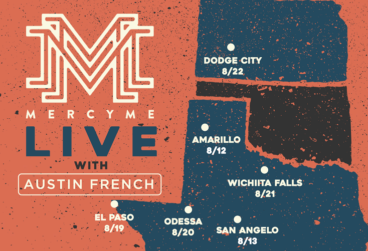 MercyMe, Austin French set to make El Paso stop in August