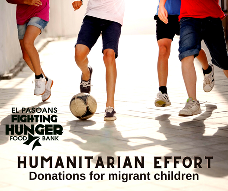 El Pasoans Fighting Hunger leading drive to collect supplies, donations for migrant children