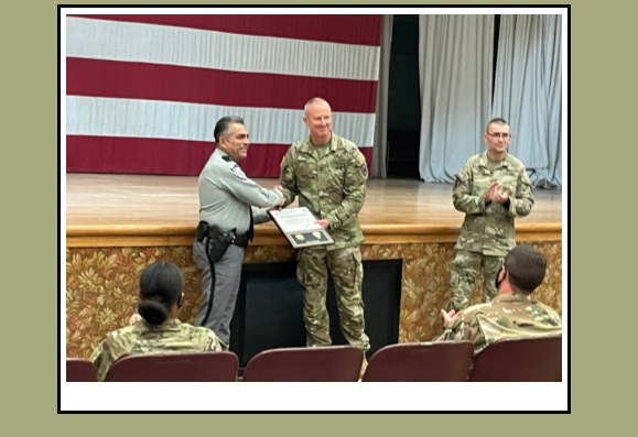 EPCSO honors Joint Task Force-North with appreciation plaque