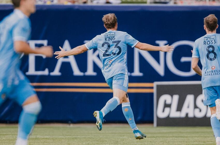 Crowned Again! Macca King tapped for USL Team of the Week