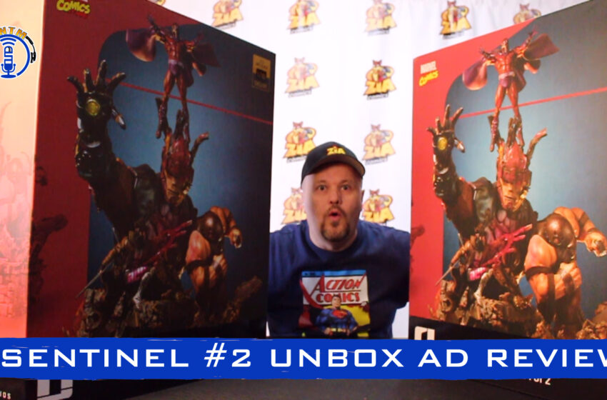 VLog: TNTM's Troy unboxes and reviews Iron Studios Sentinel #2 Deluxe statue
