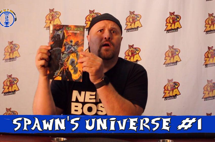VLog: TNTM's Troy reviews Image Comics Spawn's Universe #1