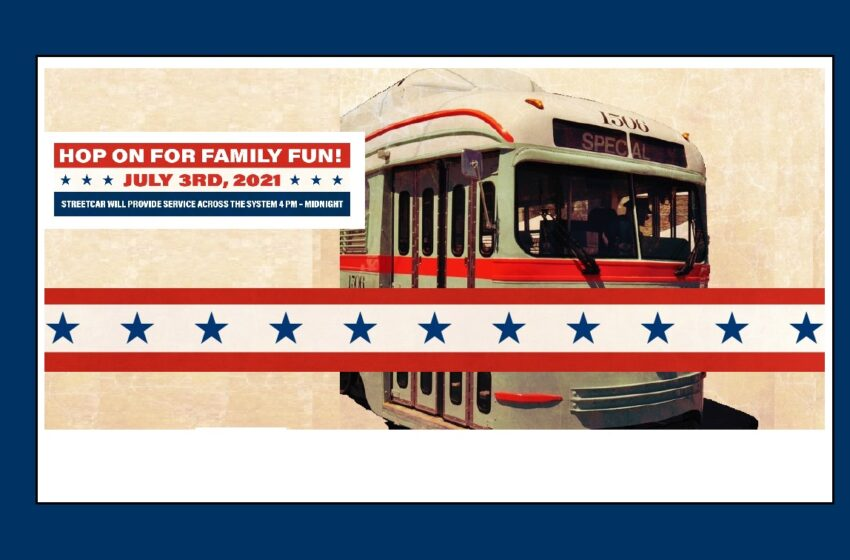 El Paso Streetcar returns with rides to honor Nation's Birthday
