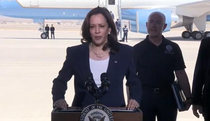 VP Harris visits El Paso to view border, enforcement efforts
