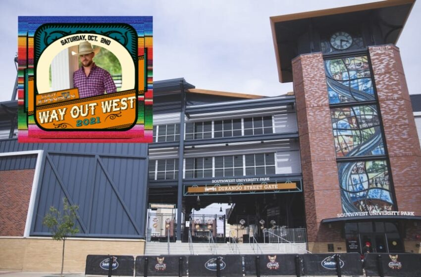Cody Johnson to headline 2021 Way Out West Country Music Festival