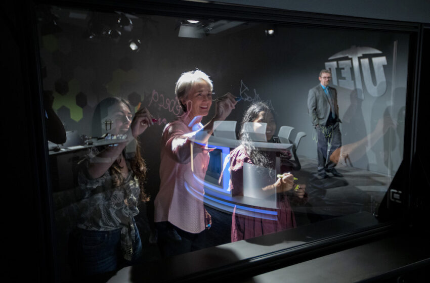 UTEP's new multimedia studio features high tech, user friendly equipment for students, faculty