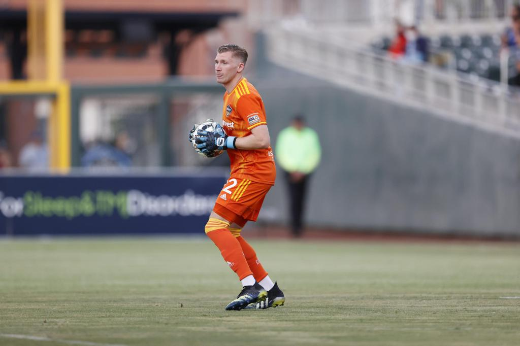 GoalkeeperBen Beauryrecorded two saves to earn his first professional shutout.   |  Photo by Ivan Pierre Aguirre/El Paso Locomotive FC