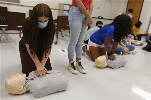 Summer camp helps launch Franklin P-TECH program