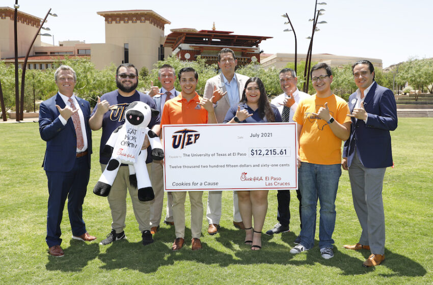 Chick-fil-A donates $12k to UTEP's Student Emergency Fund